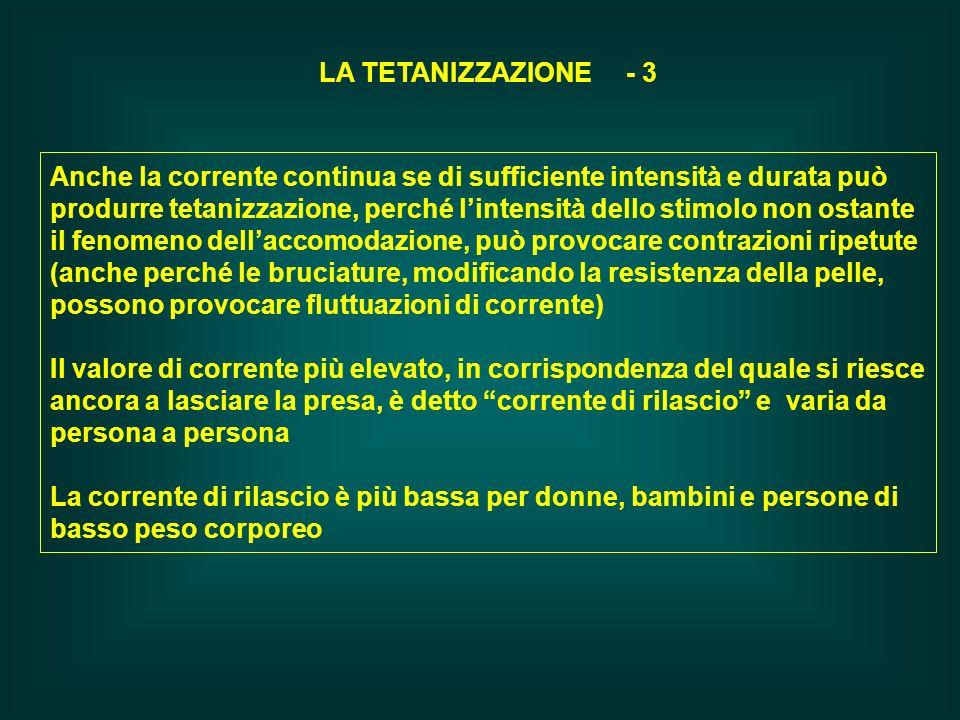 LA TETANIZZAZIONE - 3