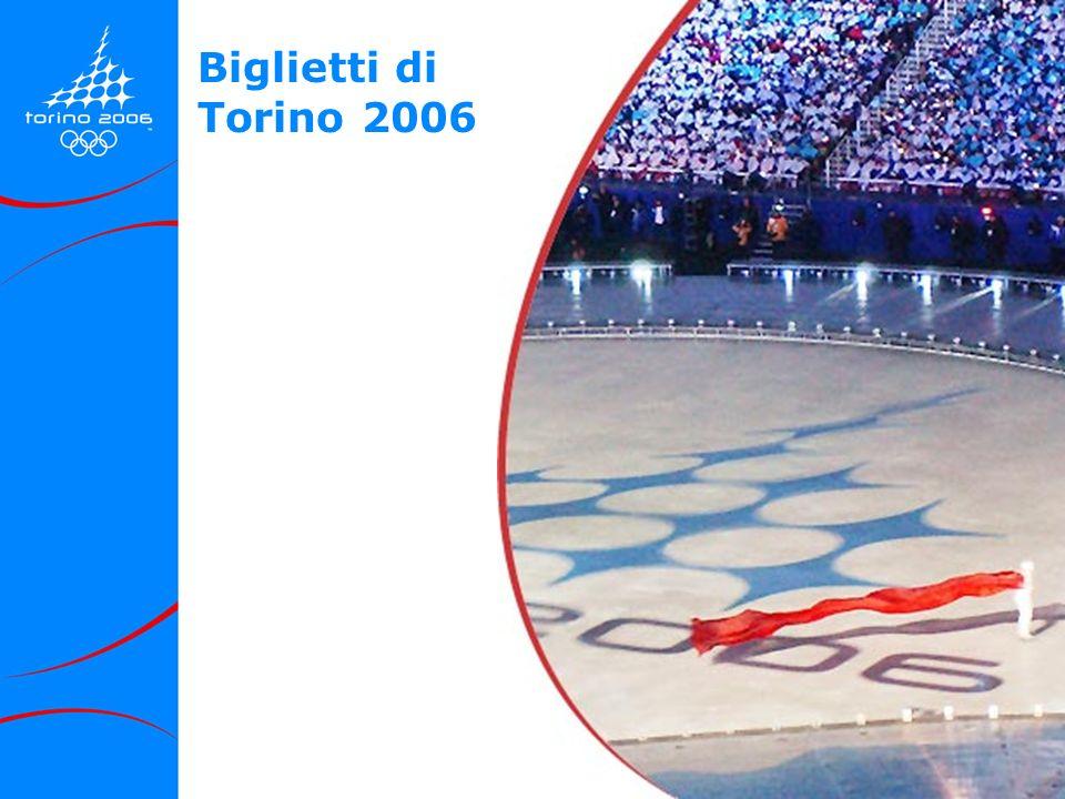 Biglietti di Torino 2006
