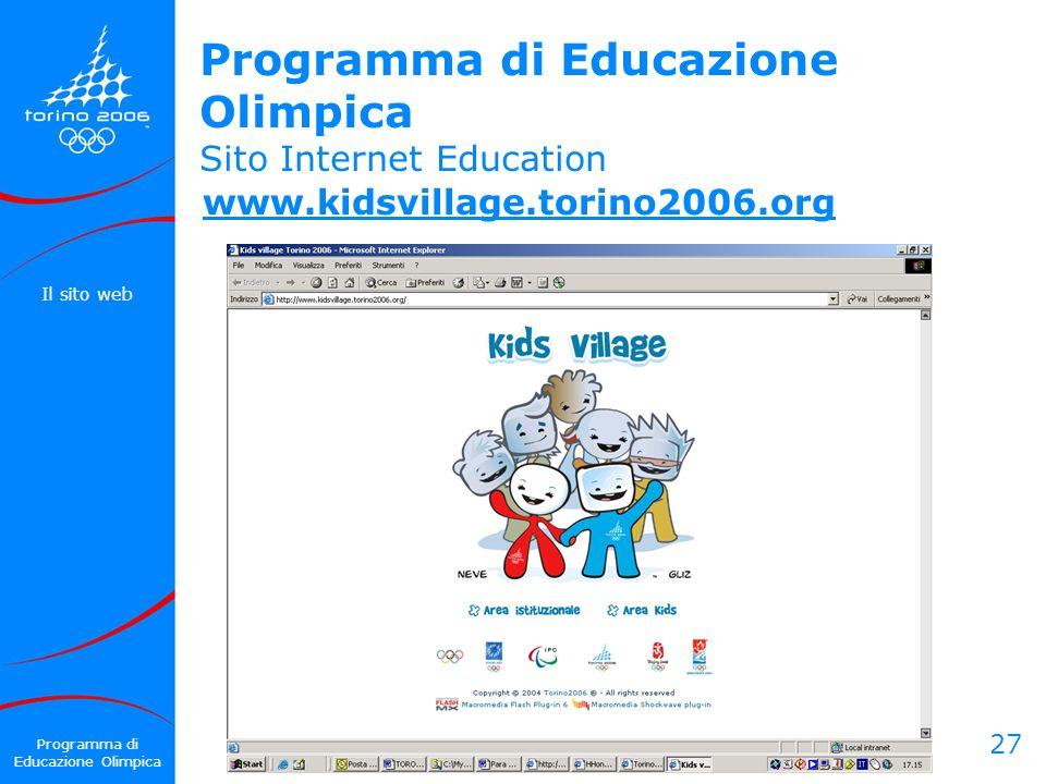Programma di Educazione Olimpica