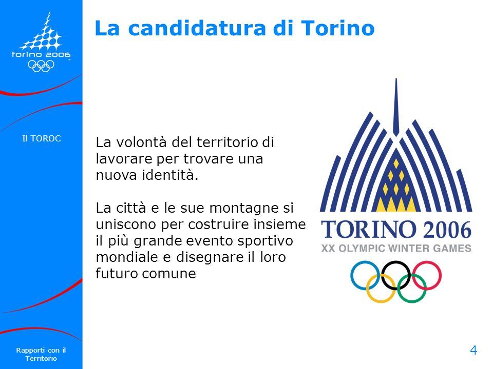 La candidatura di Torino