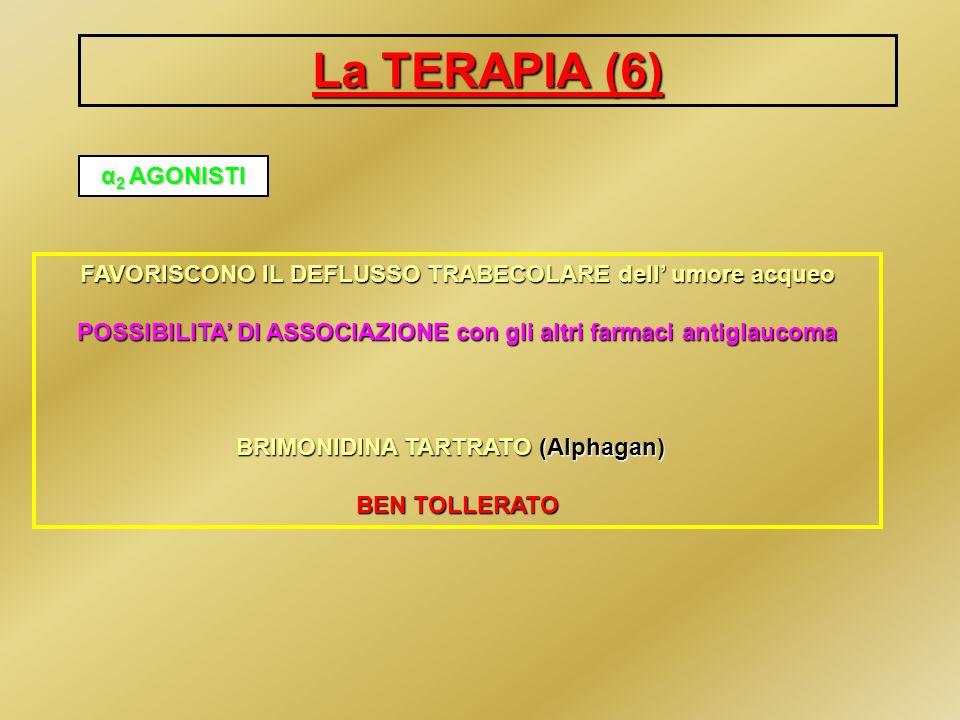 La TERAPIA (6) α2 AGONISTI