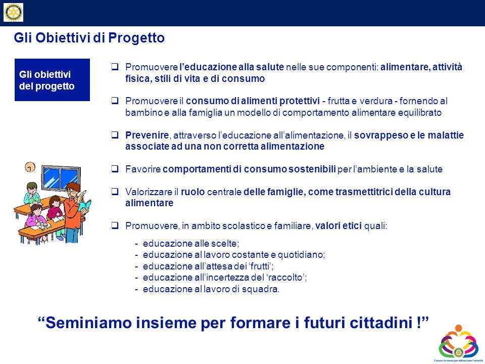 Gli Obiettivi di Progetto