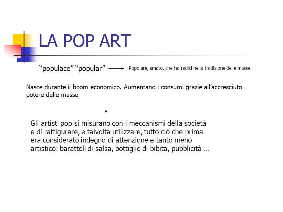 LA POP ART populace popular