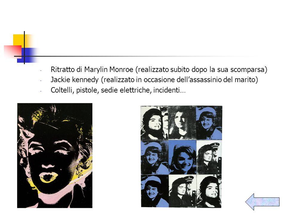 Ritratto di Marylin Monroe (realizzato subito dopo la sua scomparsa)