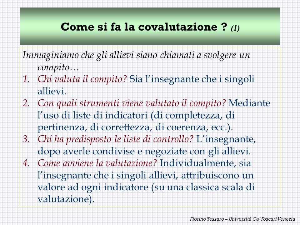 Come si fa la covalutazione (1)