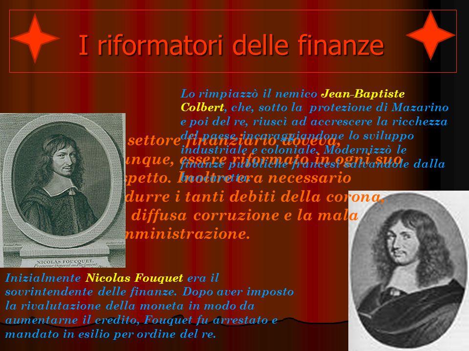 I riformatori delle finanze