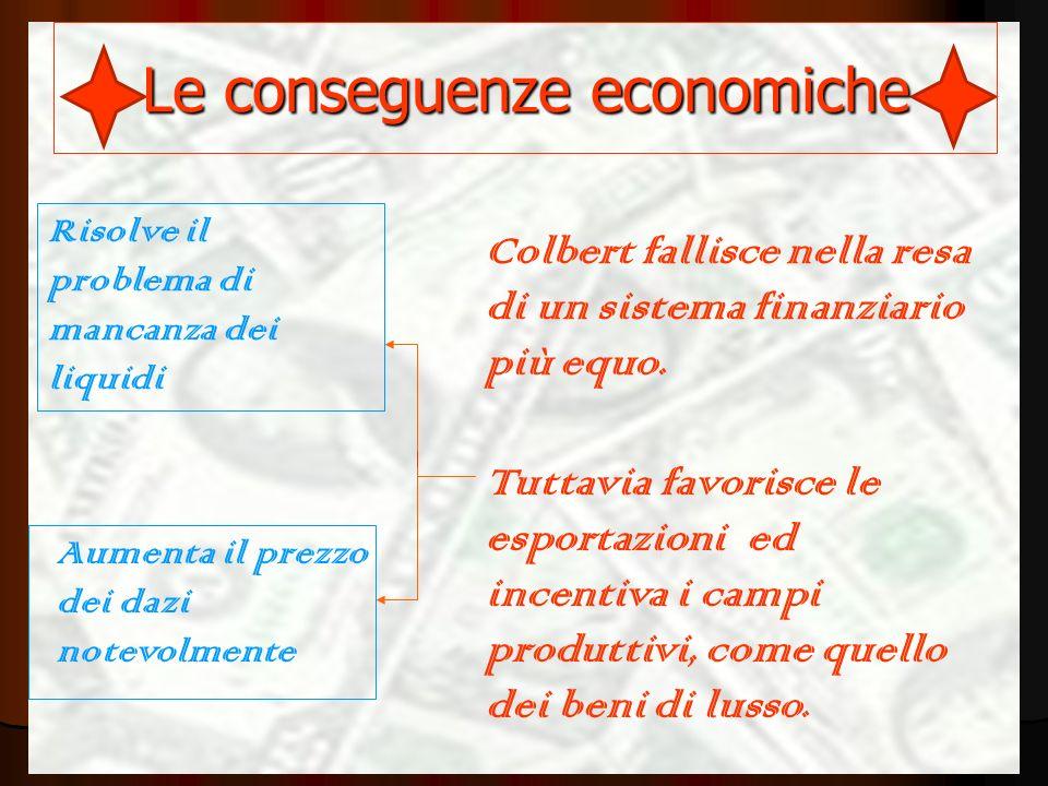 Le conseguenze economiche