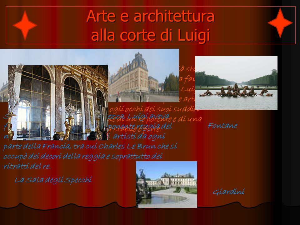 Arte e architettura alla corte di Luigi