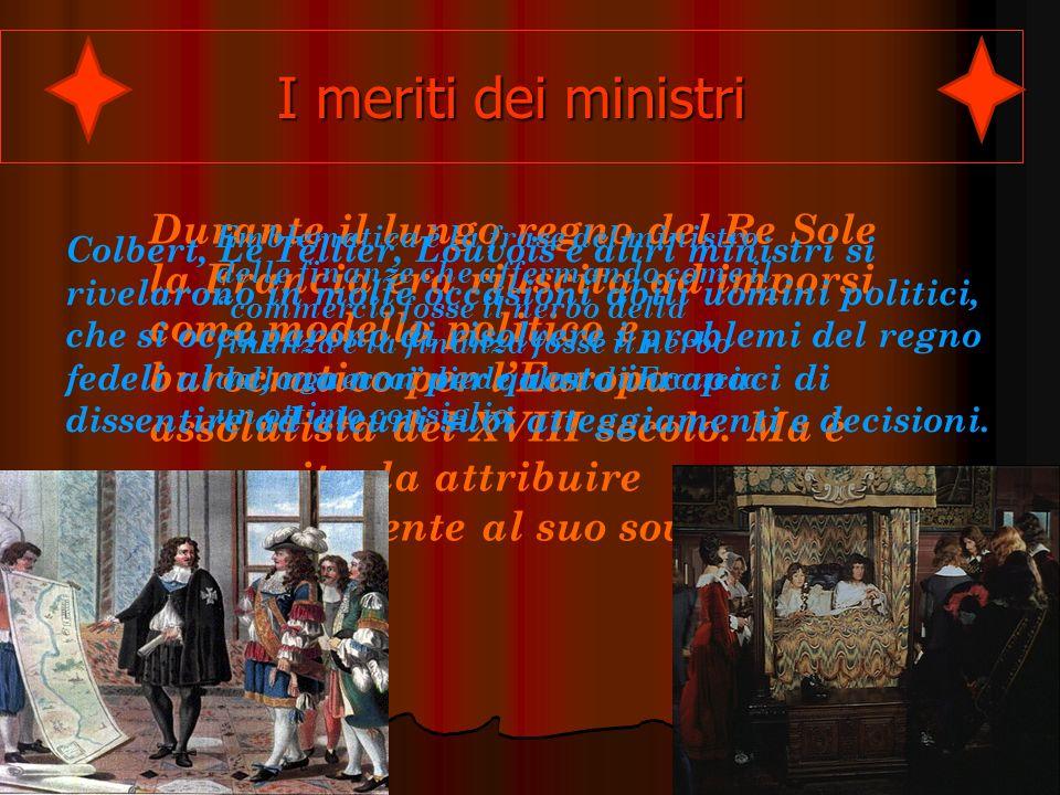 I meriti dei ministri