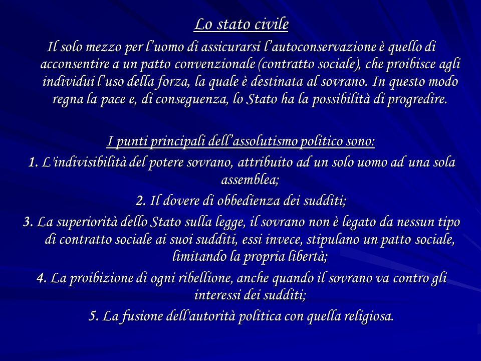 Lo stato civile