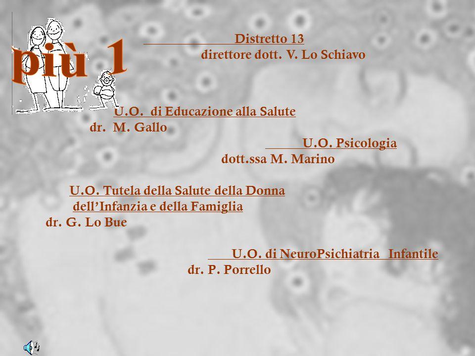più 1 Distretto 13 direttore dott. V. Lo Schiavo