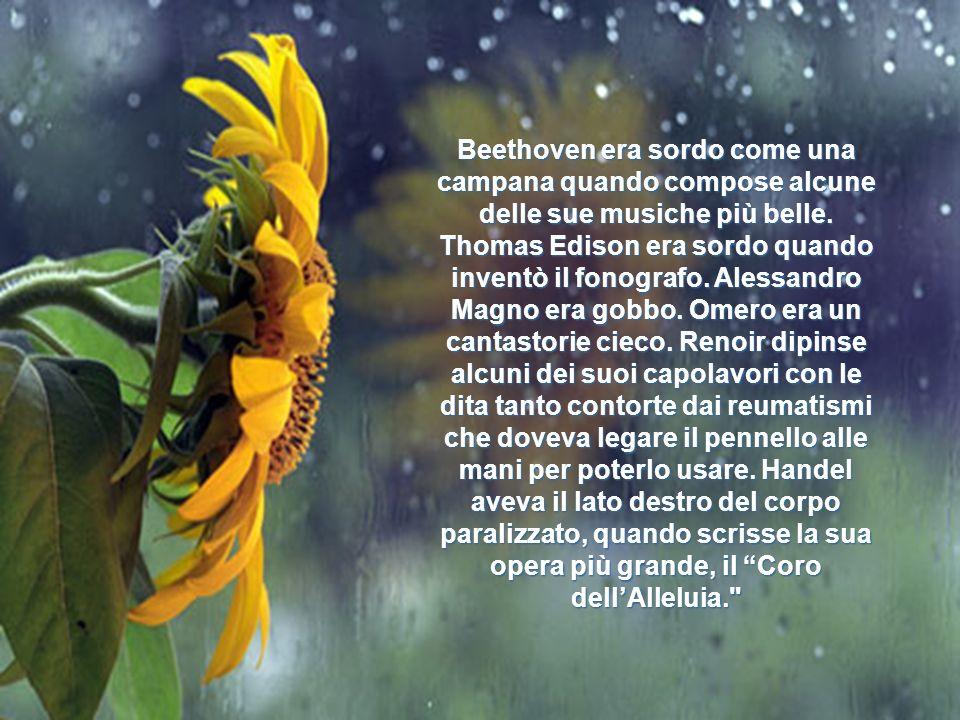 Beethoven era sordo come una campana quando compose alcune delle sue musiche più belle.