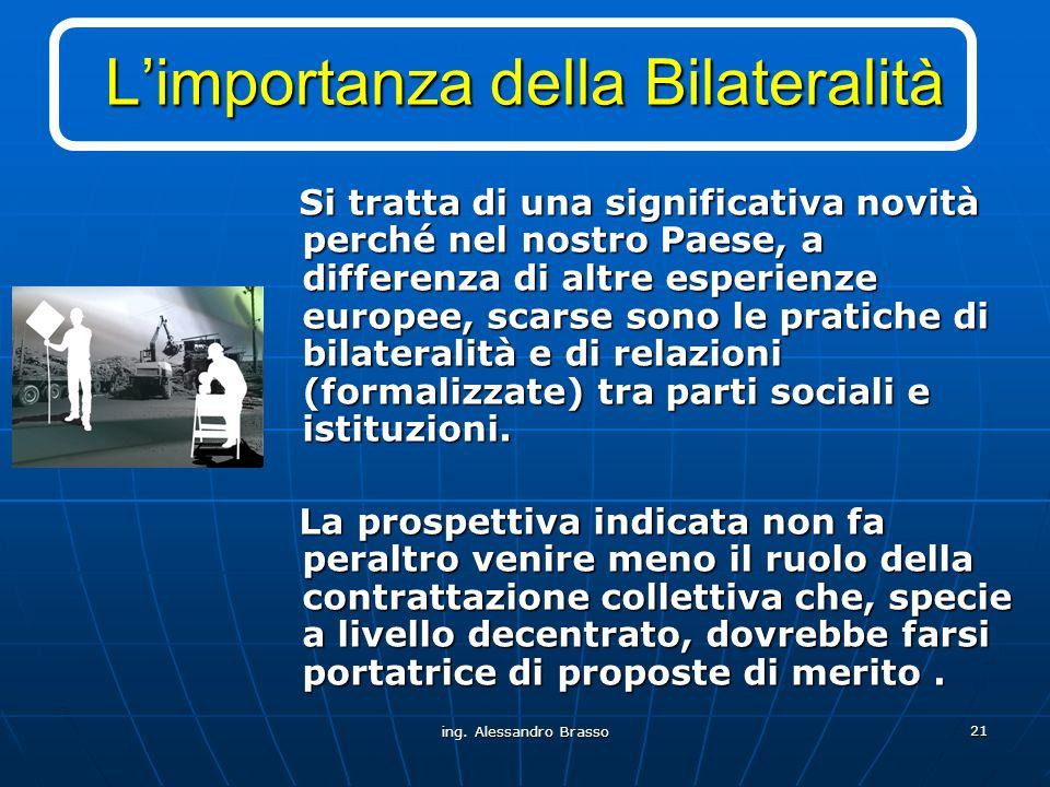 L'importanza della Bilateralità