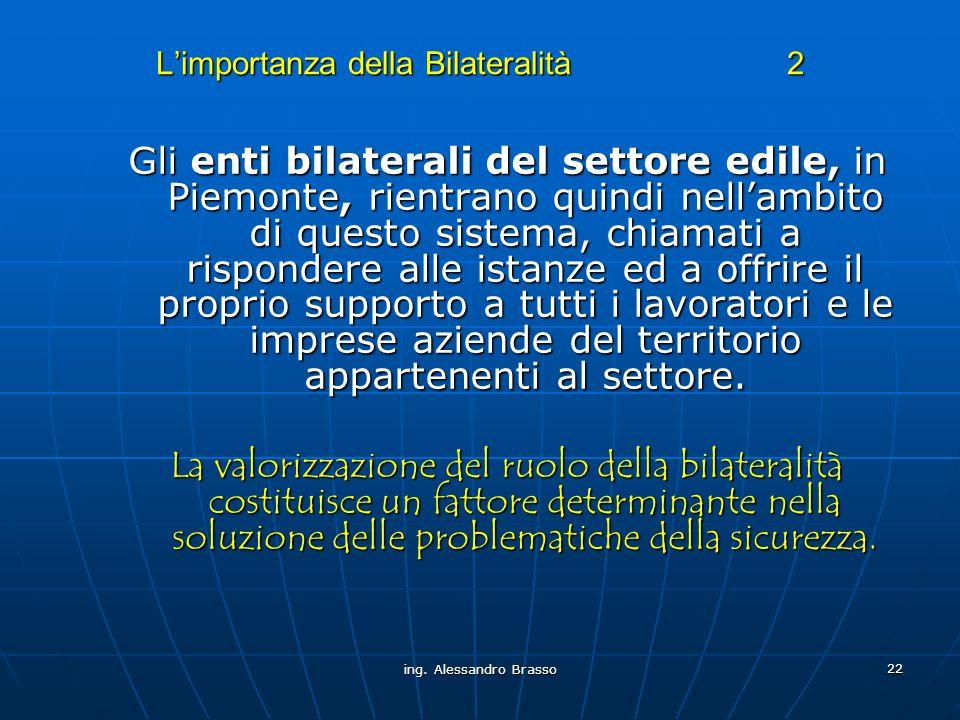 L'importanza della Bilateralità 2