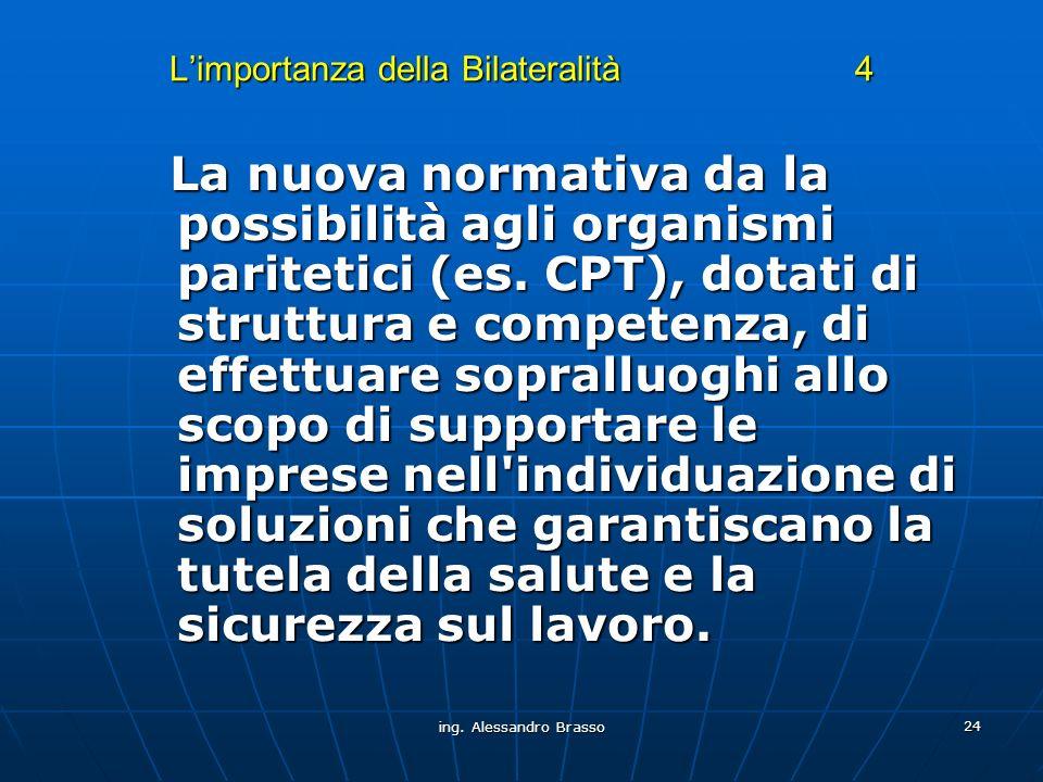 L'importanza della Bilateralità 4