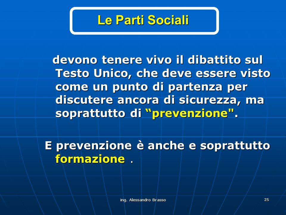Le Parti Sociali