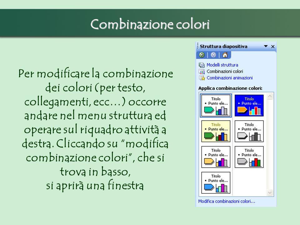 Combinazione colori