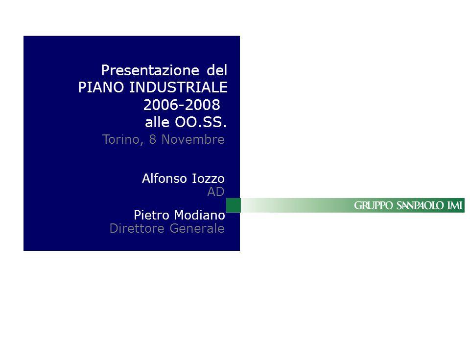 Presentazione del PIANO INDUSTRIALE 2006-2008 alle OO.SS.