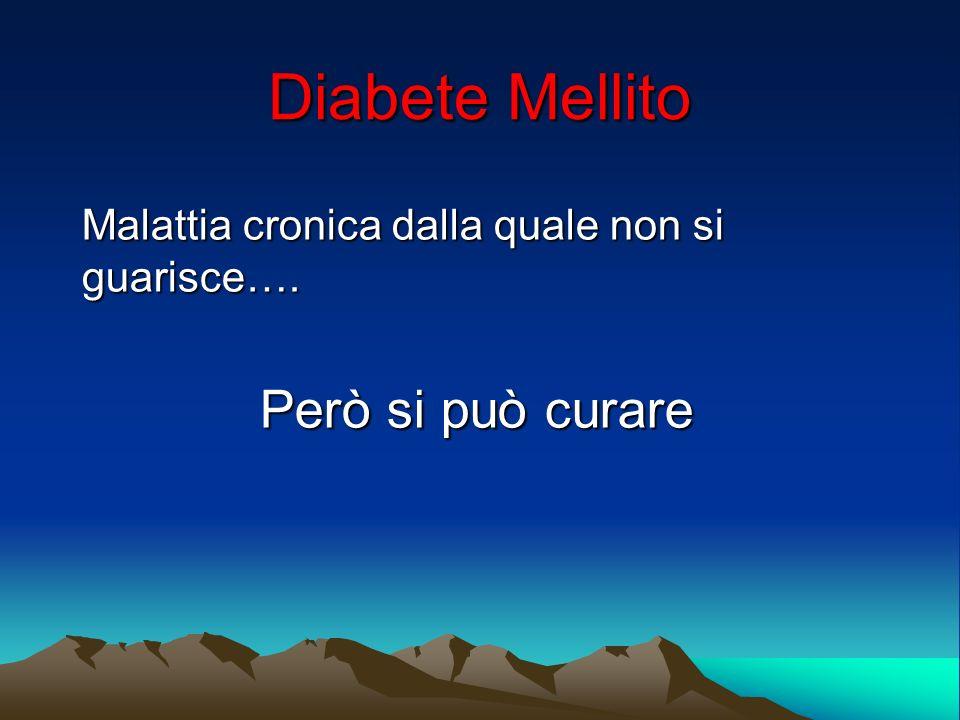 Malattia cronica dalla quale non si guarisce…. Però si può curare
