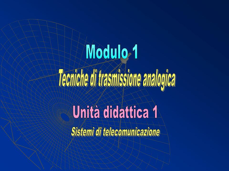 Tecniche di trasmissione analogica
