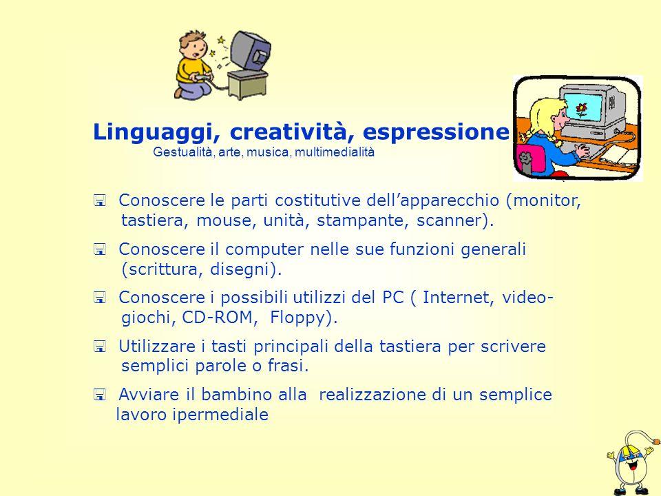 Linguaggi, creatività, espressione