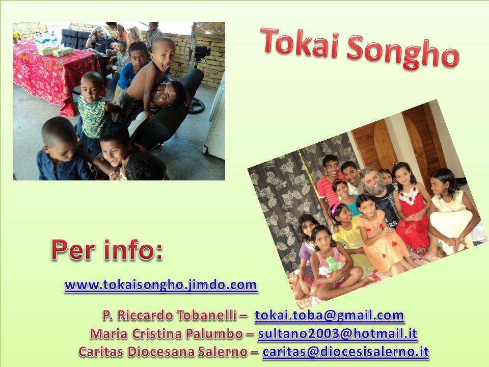Tokai Songho Per info: www.tokaisongho.jimdo.com