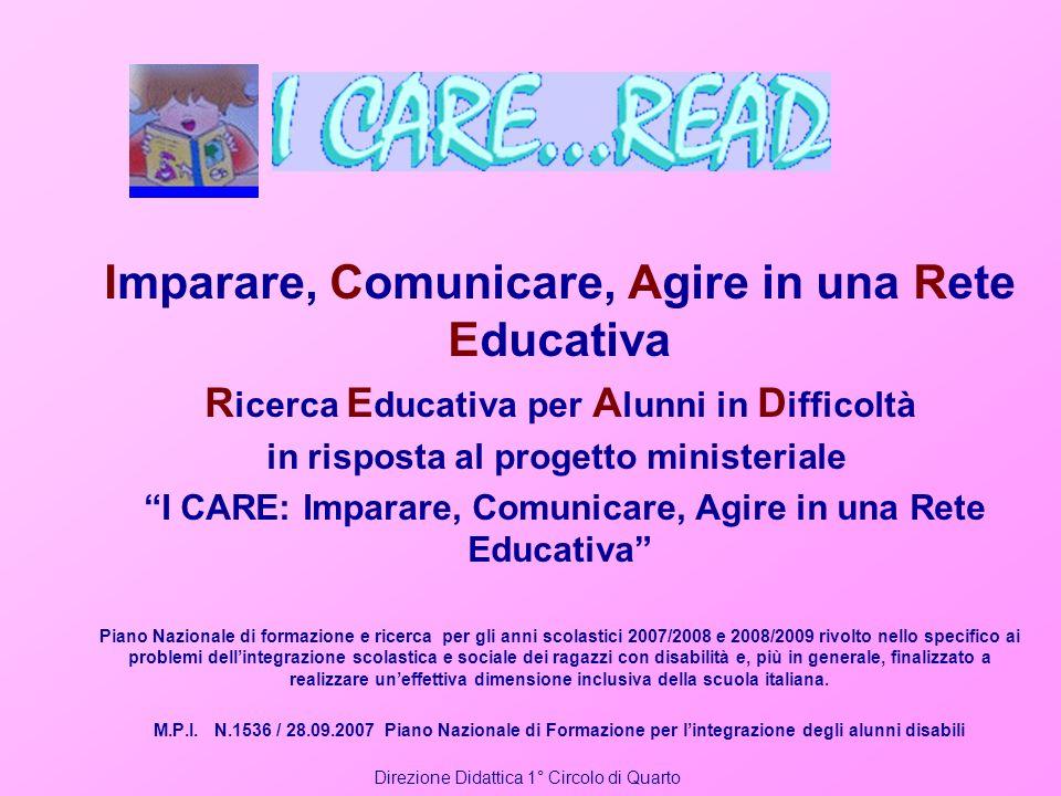 Imparare, Comunicare, Agire in una Rete Educativa