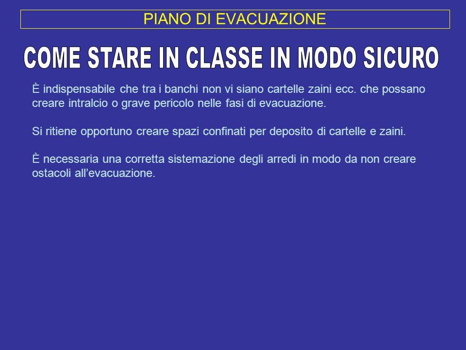 COME STARE IN CLASSE IN MODO SICURO