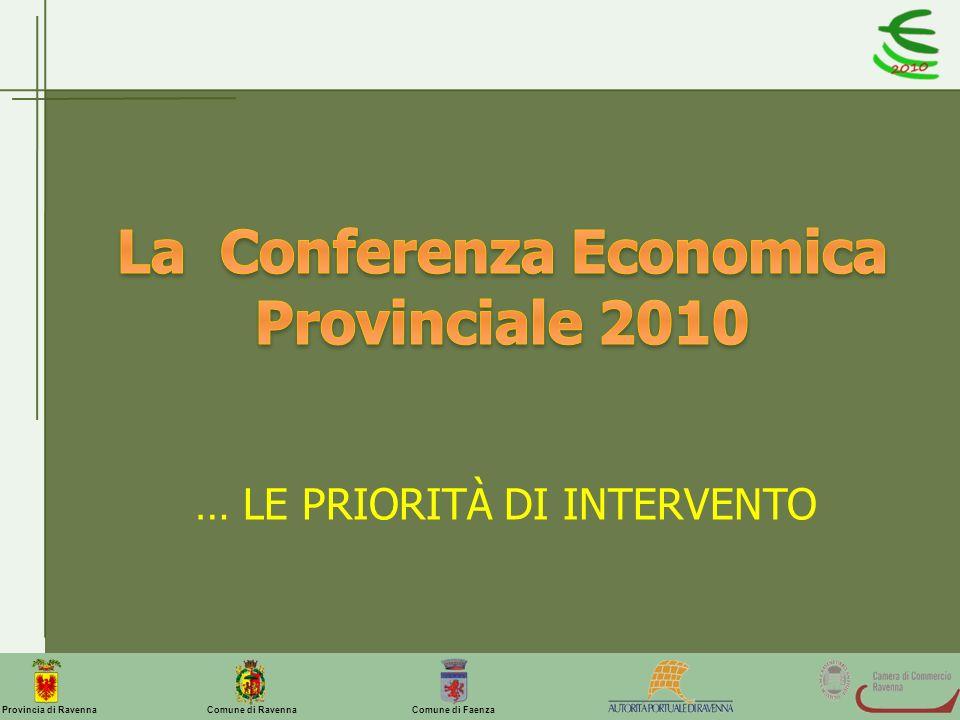 La Conferenza Economica Provinciale 2010