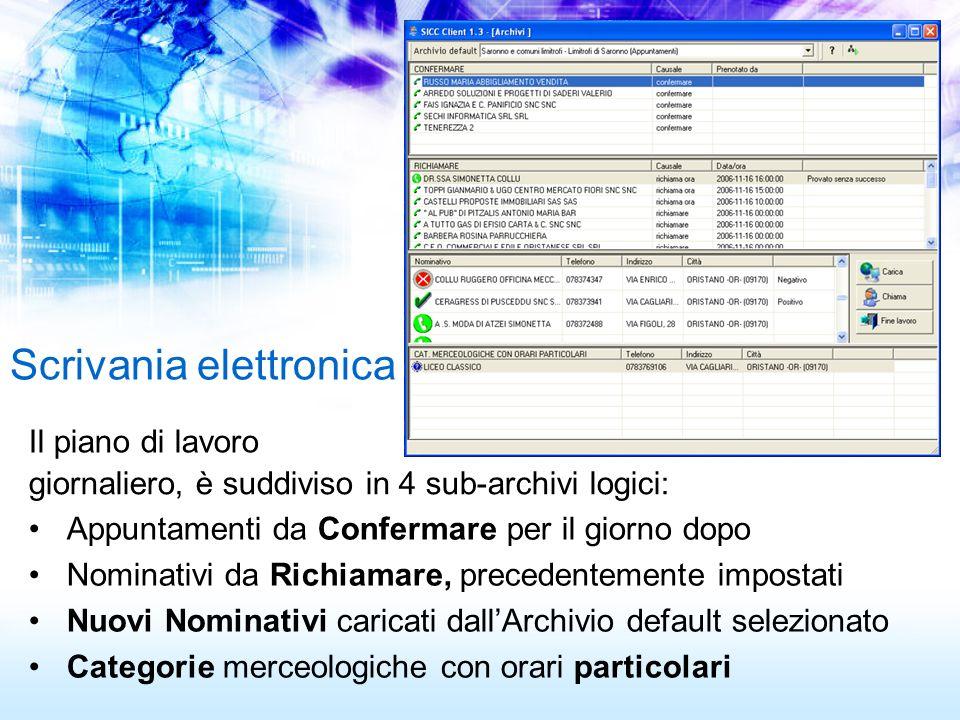 Scrivania elettronica