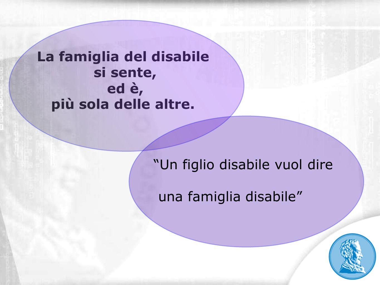 La famiglia del disabile