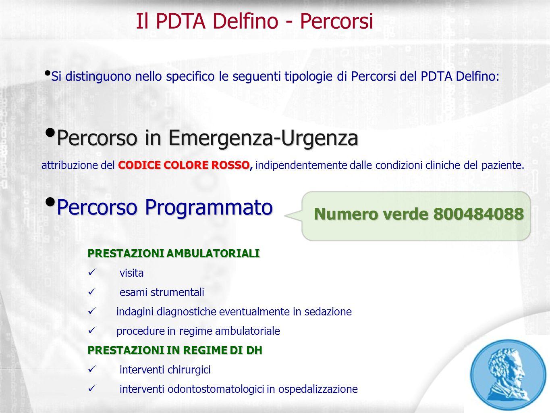 Il PDTA Delfino - Percorsi