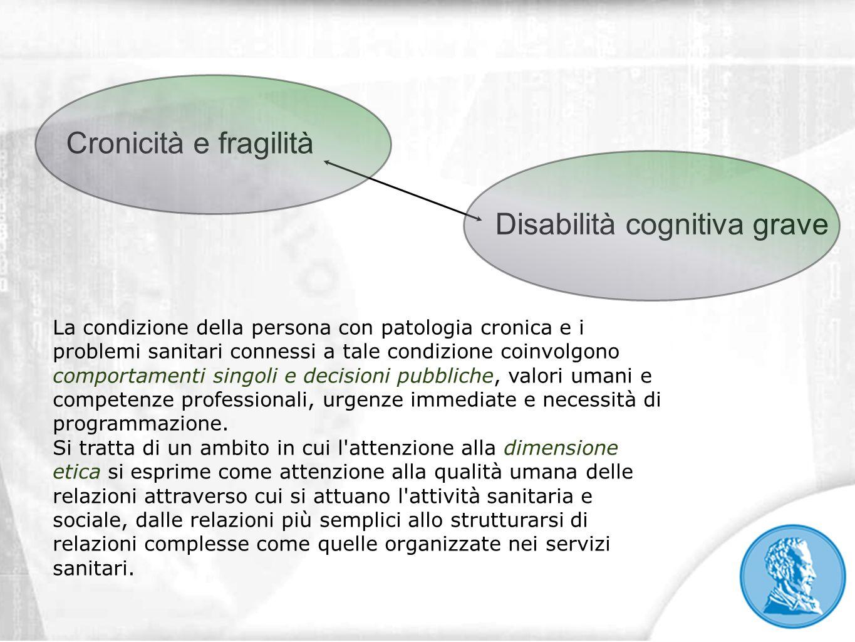 Disabilità cognitiva grave