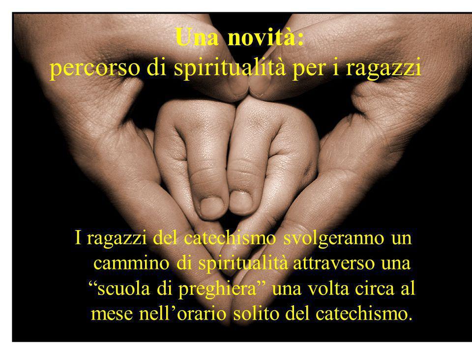 percorso di spiritualità per i ragazzi