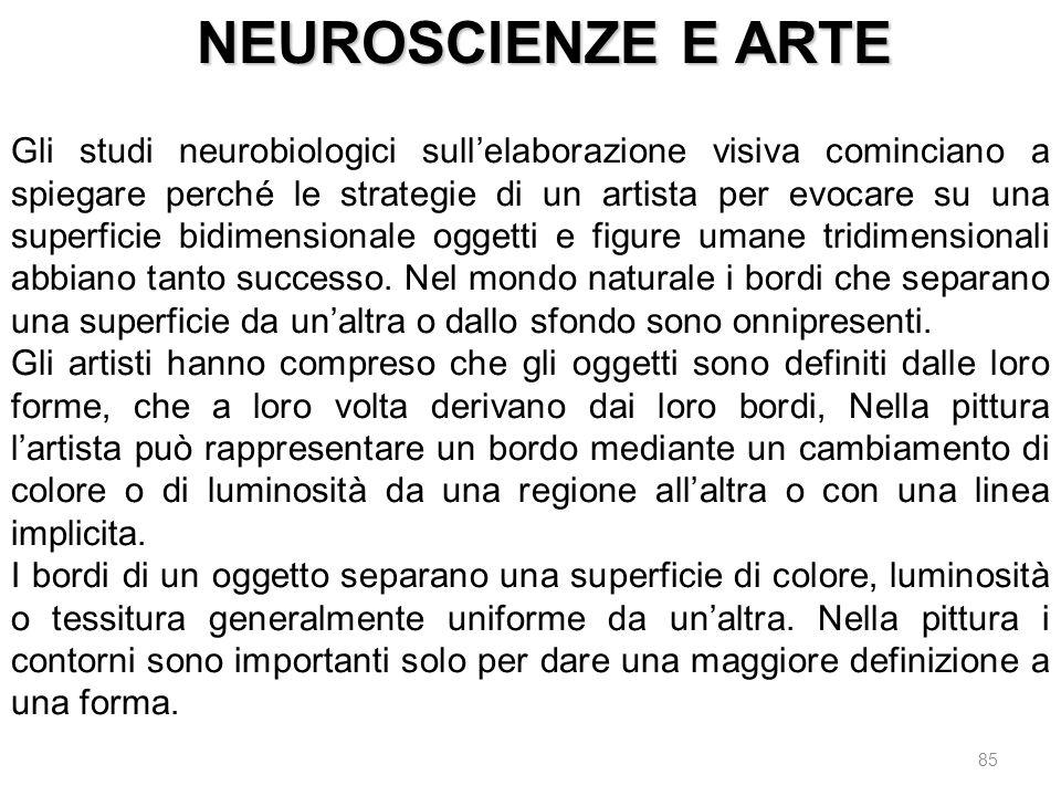 NEUROSCIENZE E ARTE