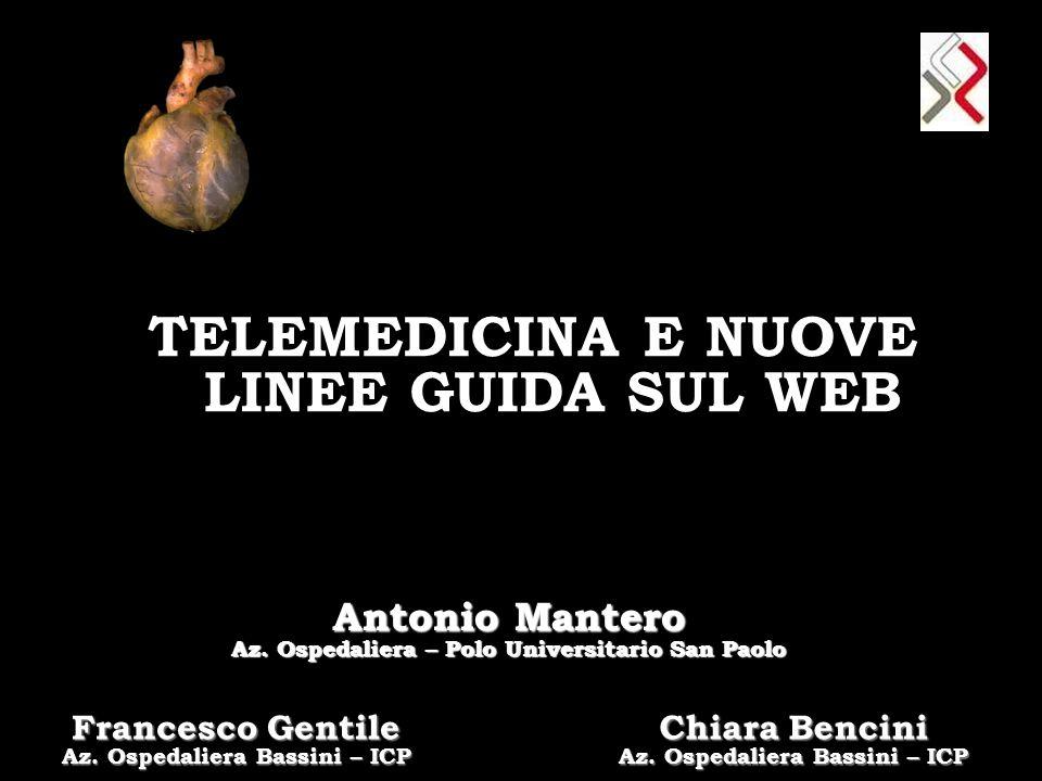 TELEMEDICINA E NUOVE LINEE GUIDA SUL WEB