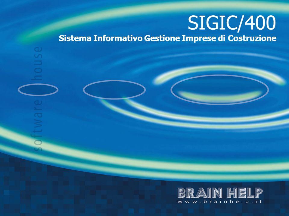 SIGIC/400 Sistema Informativo Gestione Imprese di Costruzione