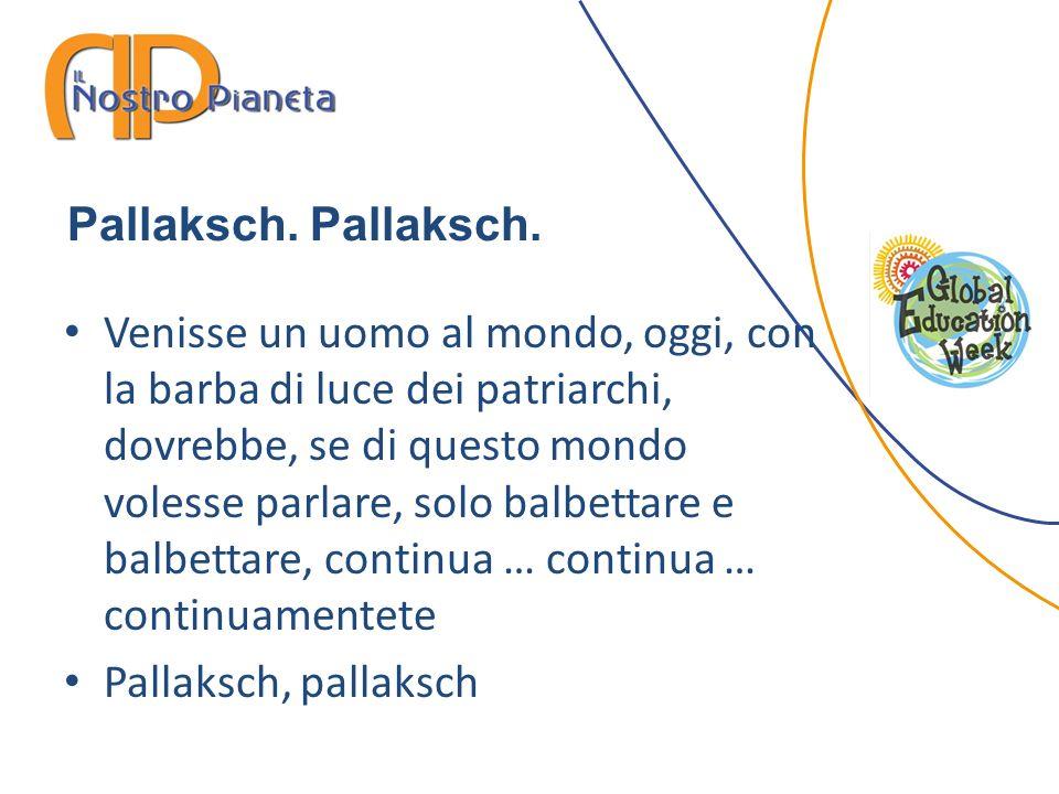 Pallaksch. Pallaksch.