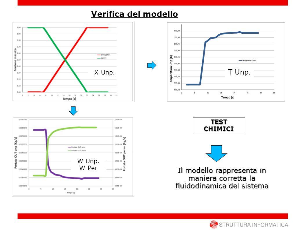 Verifica del modello T Unp.