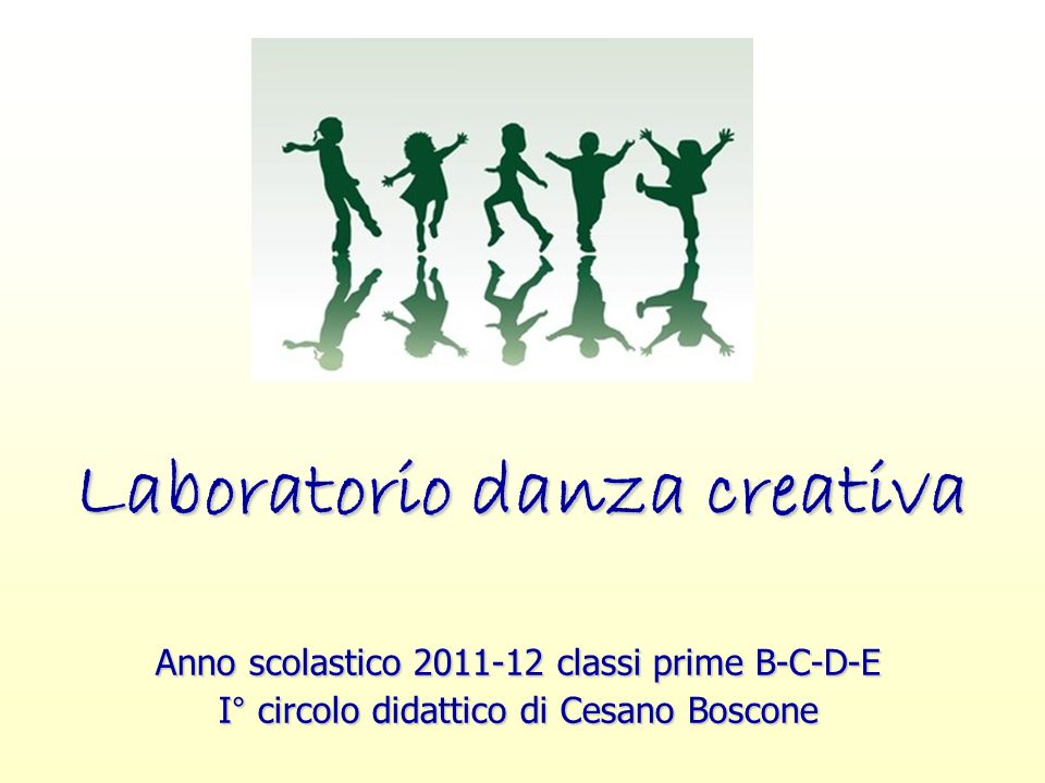 Laboratorio danza creativa