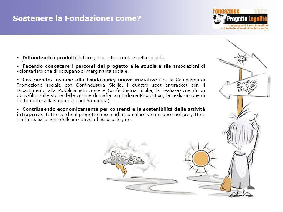 Sostenere la Fondazione: come