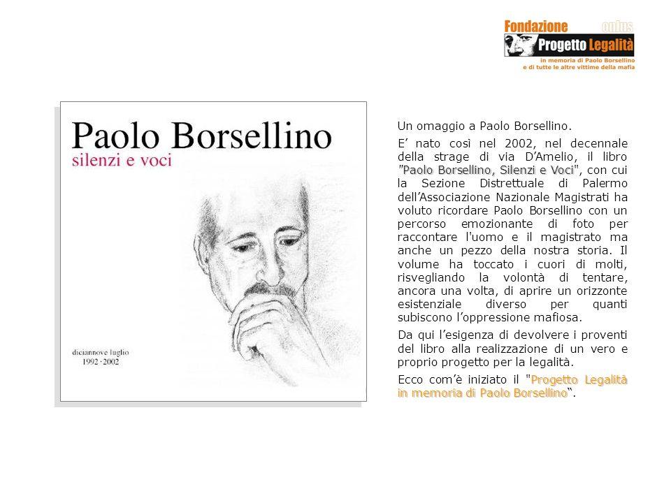 Un omaggio a Paolo Borsellino.