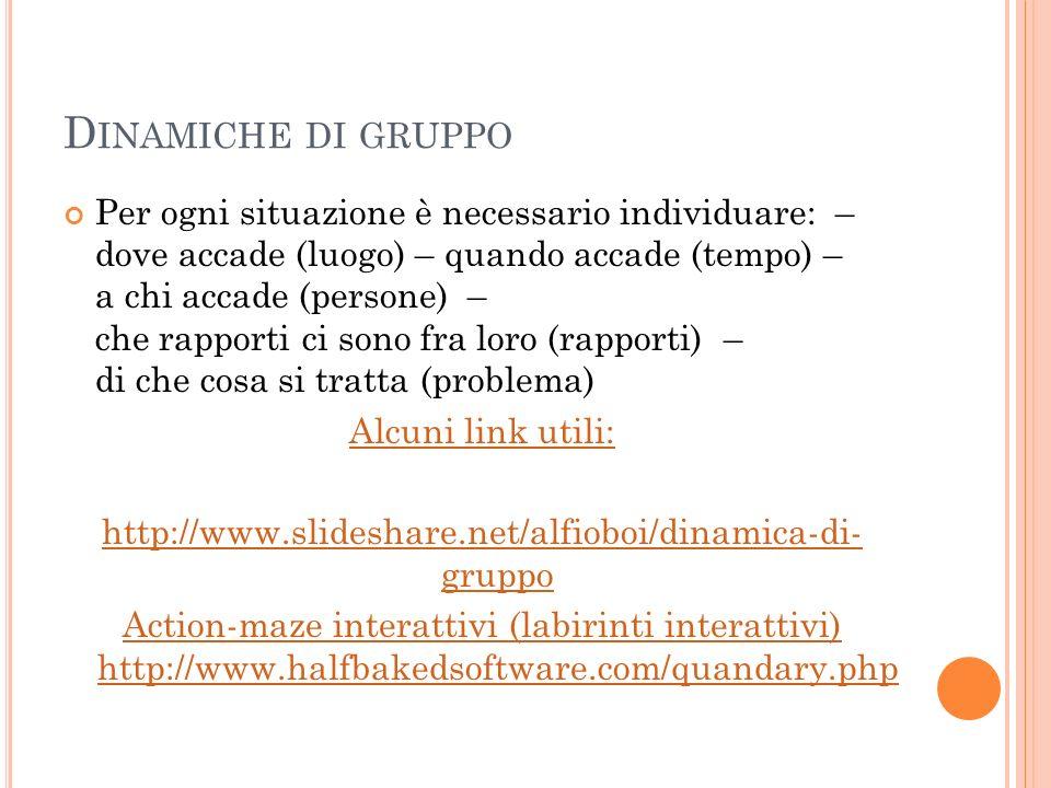 http://www.slideshare.net/alfioboi/dinamica-di- gruppo