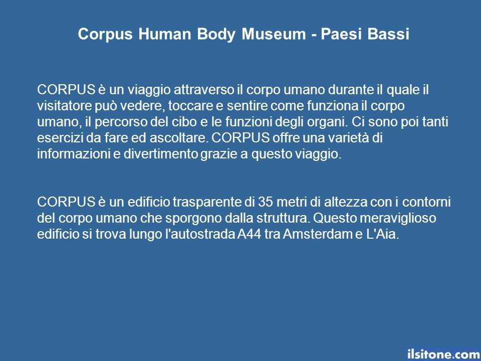 Corpus Human Body Museum - Paesi Bassi
