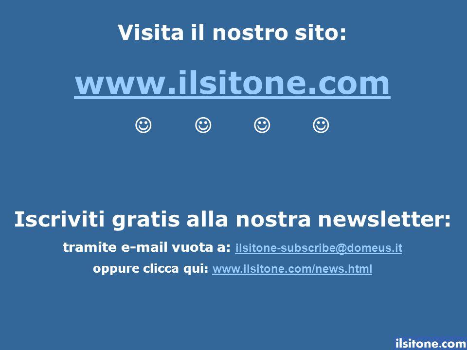 www.ilsitone.com Visita il nostro sito: J J J J