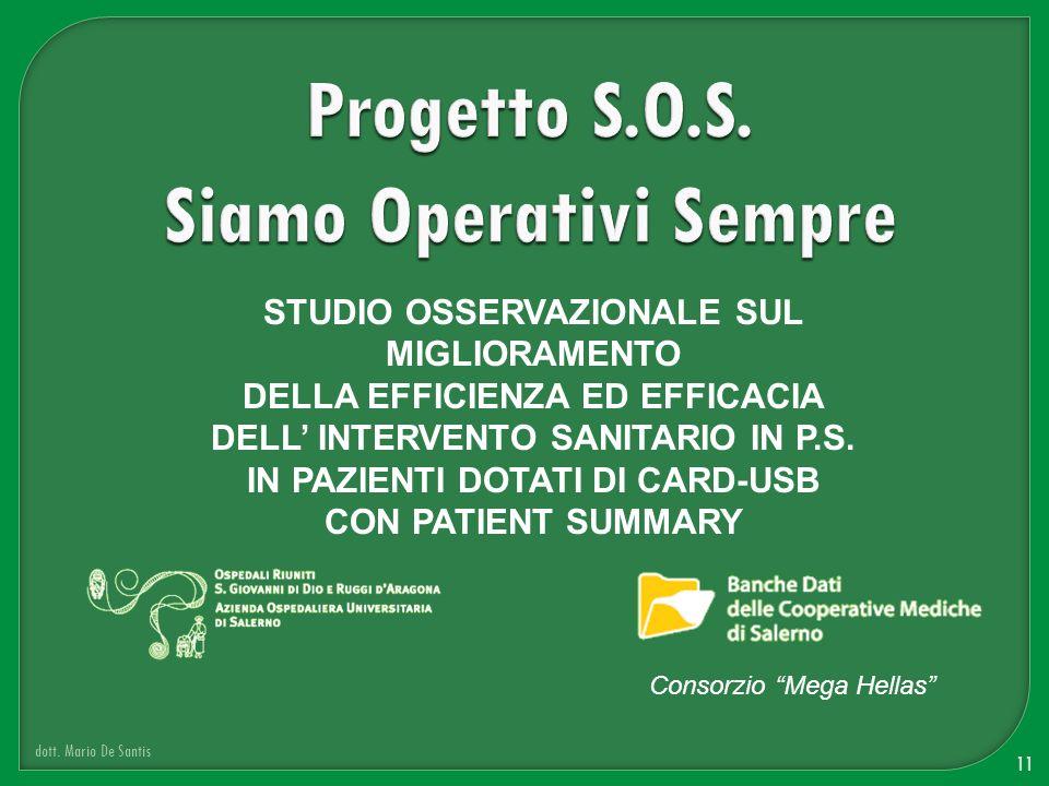 Progetto S.O.S. Siamo Operativi Sempre