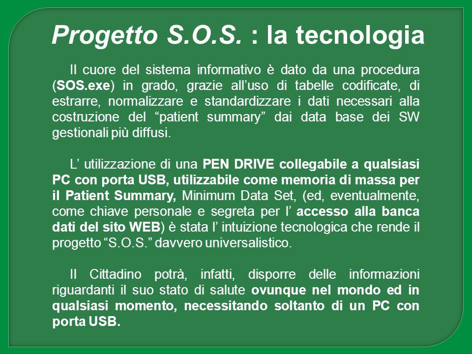 Progetto S.O.S. : la tecnologia
