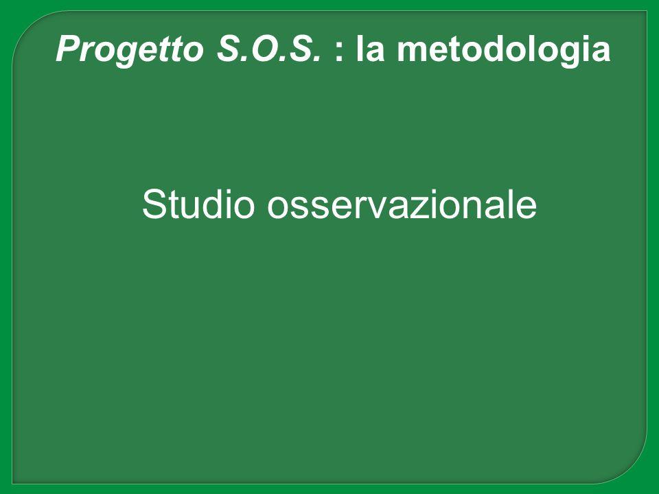 Progetto S.O.S. : la metodologia