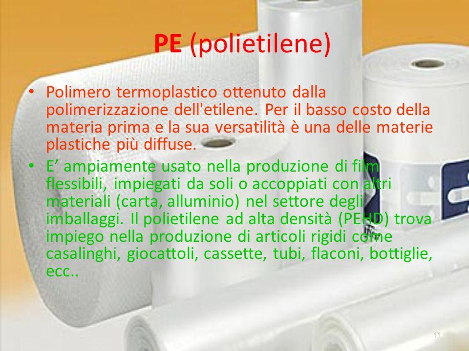 PE (polietilene)
