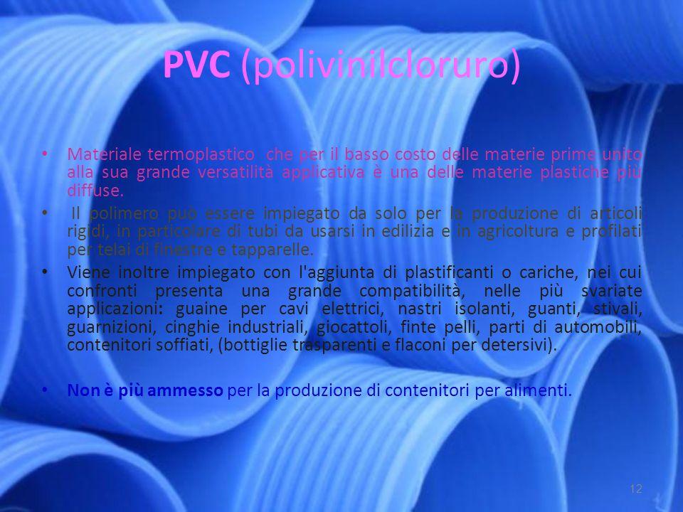PVC (polivinilcloruro)